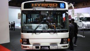 2013 Tokyo Motor Show Live - Isuzu ELGA Hybrid, Forward 6x6