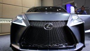 2013 Tokyo Motor Show Live - Lexus LF-NX Turbo