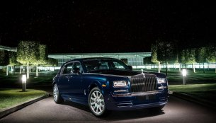 Rolls-Royce Celestial Phantom with 446 diamonds showcased at the Dubai Motor Show