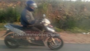 Spied: TVS Dazz caught testing in India
