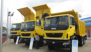 IAB Report - Tata Motors displays 6 new models at EXCON 2013