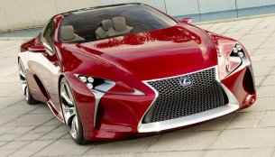 Lexus LC 500 Coupe reportedly coming to Detroit Auto Show - Report
