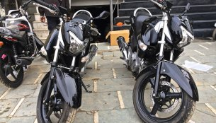 IAB Exclusive - Suzuki Inazuma GW250 demo bikes spotted