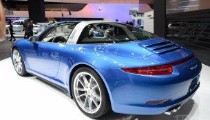 NAIAS Live - 2014 Porsche 911 Targa, 911 Targa 4S [Update - Presented in Goodwood]