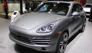 IAB Report - Porsche India launches Cayenne Platinum Edition at INR 84.9 lakhs