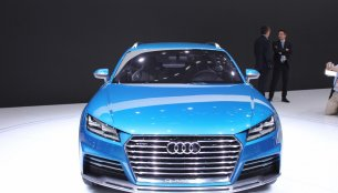 NAIAS Live - Audi Allroad Shooting Brake Concept [Update - Presented in Goodwood]