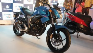 Report - Suzuki Gixxer specifications leaked