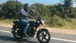 Spied - TVS's Discover-challenging commuter bike caught on test