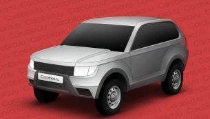 Rendering - Lada's next generation 4X4 SUV (Renault Duster rival)
