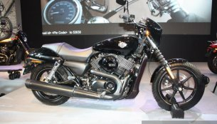 Auto Expo Live - Harley-Davidson Street 750 launched at INR 4.1 lakhs [18 Images Added]