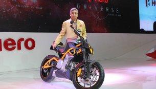 Auto Expo Live - Hero Hastur 620 cc bike revealed [Gallery updated]