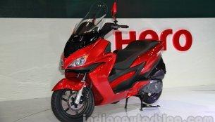 Auto Expo Live - Hero ZIR 150 cc scooter unveiled