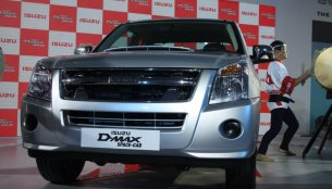 Auto Expo Live - Isuzu D-MAX Space Cab unveiled [Image Gallery updated]