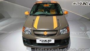 Auto Expo Live - Maruti Alto Krescendo and Stingray custom showcased