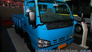 Auto Expo Live - SML Isuzu showcases S7 bus and NHR LCV