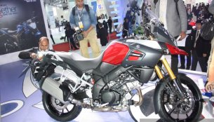 Auto Expo Live - Suzuki V Strom 1000 ABS unveiled [Image Gallery updated]