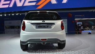 IAB Report - Customized Tata Bolt & Zest were shown at Auto Expo