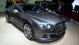 Geneva Live - Bentley Continental GT Speed & Bentley Flying Spur V8