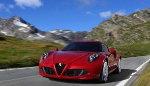 2014 New York Auto Show - Alfa Romeo 4C