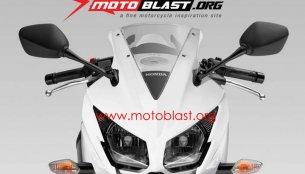 Report - New Honda CBR150R with split headlamps on its way