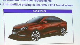 Russia - Lada Vesta to replace Lada Priora, late 2015 launch