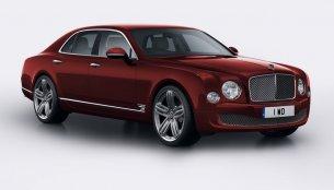 United Kingdom - Bentley Mulsanne 95 special edition model announced