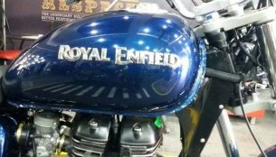 IAB Report - Royal Enfield's new logo makes it to the bikes