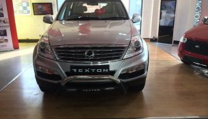 IAB Report - Mahindra launches Ssangyong Rexton RX6 at INR 19.96 lakhs