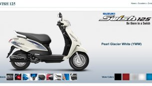IAB Report - Suzuki Swish 125 gets new colours, upgraded instrument panel