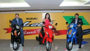 Nepal - Suzuki Let's launched at NPR 1,57,900