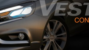 IAB Report - Lada Vesta concept teased before its Moscow debut