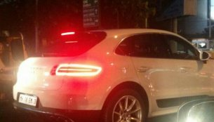 Spied - Porsche Macan S diesel surfaces in India shortly before the launch