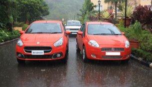 Old vs New - Fiat Grande Punto vs Fiat Punto Evo (facelift)