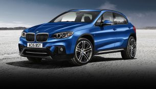 Rendering - 2016 BMW X1 to be unveiled in June next year with front wheel drive