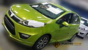 Malaysia - Proton P2-30A gets ready for a launch, spotted undisguised