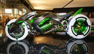 Kawasaki Concept J (electric three wheeler) video released
