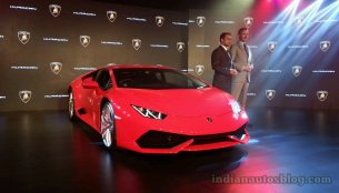 [Images Updated] - Lamborghini Huracan launched at INR 3.43 crores