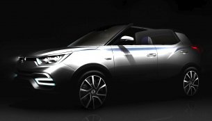 IAB Report - Ssangyong XIV-Air, XIV-Adventure compact SUVs teased ahead of their Paris debuts
