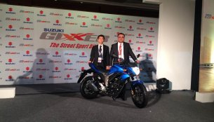 IAB Report - Suzuki Gixxer launched at INR 72,199 [Gallery added]