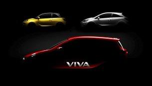 IAB Report - Next gen Chevrolet Beat's sister model Vauxhall Viva teased, debuts in Paris
