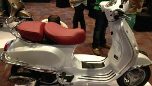 IAB Report - Vespa Elegante showcased in India