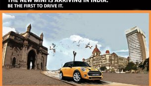 IAB Report - BMW India teases the new 2014 Mini ahead of its launch next year
