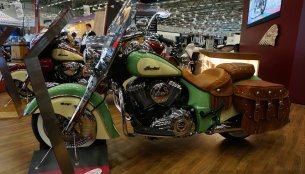 INTERMOT 2014 Live - 2015 Indian Scout, Chieftain, Chief Vintage and Roadmaster