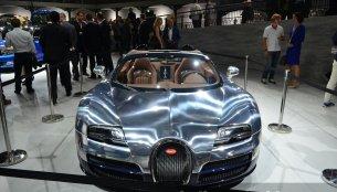 Paris Live - Bugatti Veyron Grand Sport Vitesse Ettore Bugatti