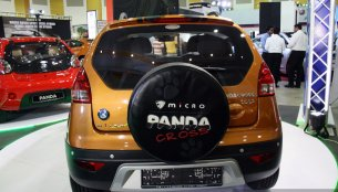 IAB Report - Geely Panda, Panda Cross and Emgrand7 showcased at Colombo 2014