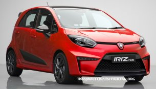 Rendering - Proton Iriz R3 vies to become a hot hatchback