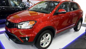 IAB Report - Ssangyong showcases Rexton, Rodius, Korando at the 2014 Colombo Motor Show