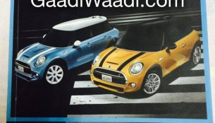 Leaked - New Mini Cooper Brochure surfaces ahead of Nov 19 launch