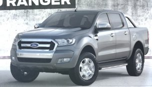 Video - 2015 Ford Ranger's front unveiled