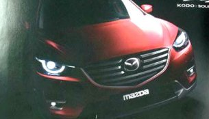 Report - 2015 Mazda CX-5 (facelift) compact SUV leaked
